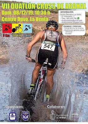 Clubes Arahal Bike Team y Ohmio y Excmo. Ayuntamiento de Arahal