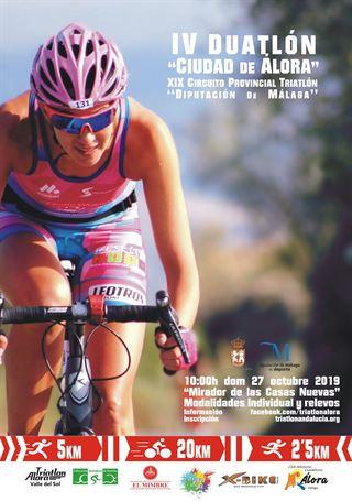 Concejalía de Deportes y el Club Triatlón Álora