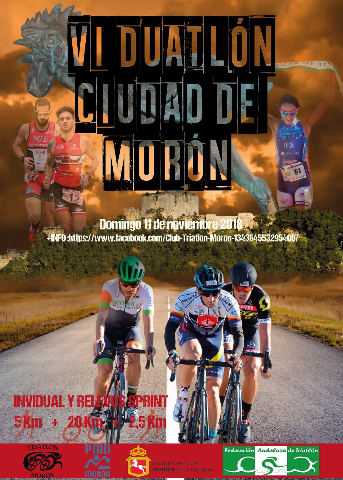 Ayuntamiento de Morón de la Frontera y el Club Triatlón Morón