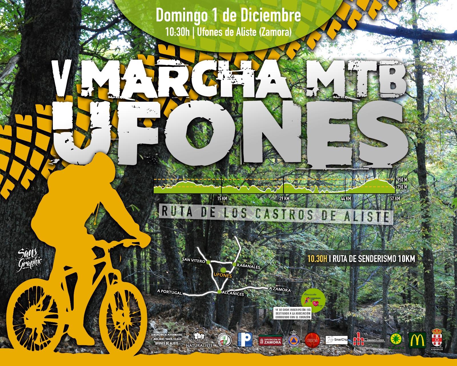 Ayuntamiento de Rabanales y el Club Deportivo de Ciclismo Aliste
