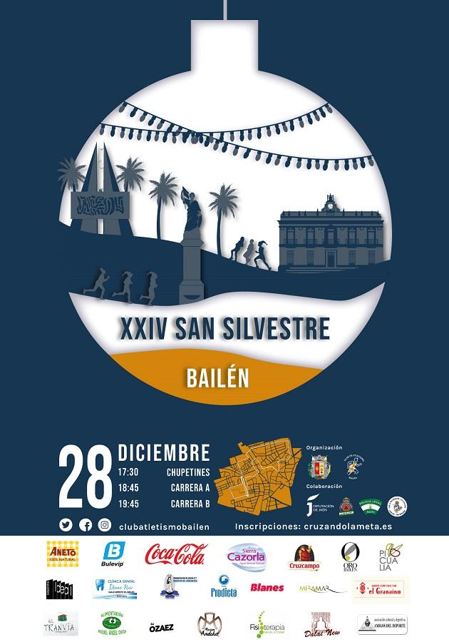 Club Atletismo Bailén y la Concejalía de Deportes del Ayuntamiento de Bailén